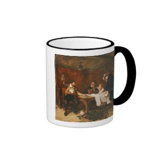 Buccaneer'sens berättelse (olja på kanfas) kaffe mugg