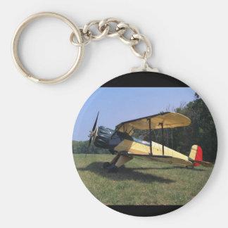 Bucker Jungmann, 1961, St_Classic flyg Rund Nyckelring