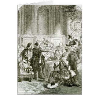 Buckingham för rådet hälsningskort