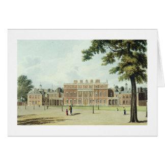 Buckingham hus, från 'historien av royalet R Hälsningskort