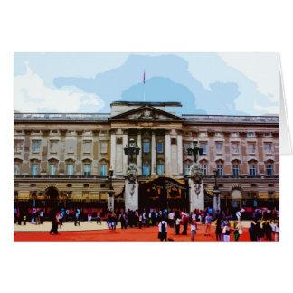 Buckingham Palace i London, UK Hälsningskort