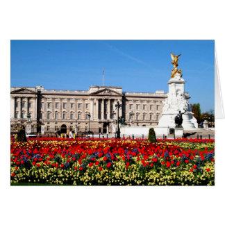 Buckingham Palace London England Hälsningskort