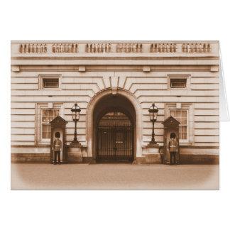 Buckingham Palace - London - hälsningkort Hälsningskort