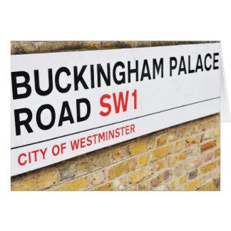 Buckingham Palace London - Hälsningskort