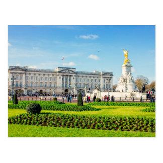 Buckingham Palace och Victoria minnesmärke Vykort