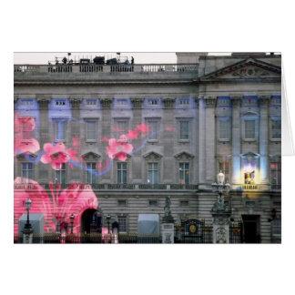 Buckingham Palace tänder show Hälsningskort
