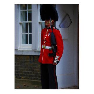 Buckingham Palace vakt Vykort