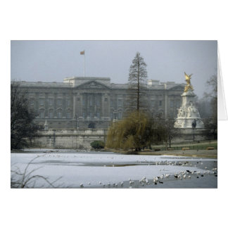 Buckingham Palace vykort No.7 Hälsningskort