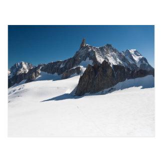 Buckla du Geant - Mont Blanc Vykort