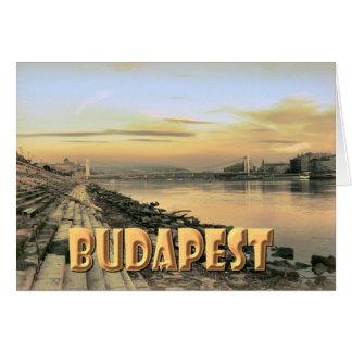 Budapest Hälsningskort