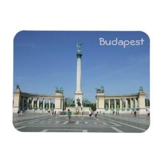 Budapest - hjältar kvadrerar magnet