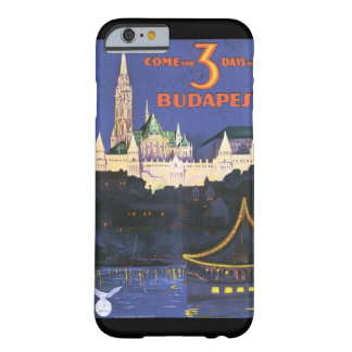 Budapest vintage resoraffisch barely there iPhone 6 fodral
