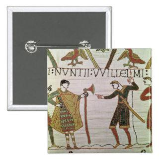 Budbärare av hertigen William kom att finna räknin Standard Kanpp Fyrkantig 5.1 Cm