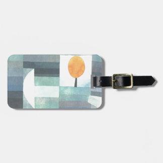Budbärare av hösten av Paul Klee Luggage Tag