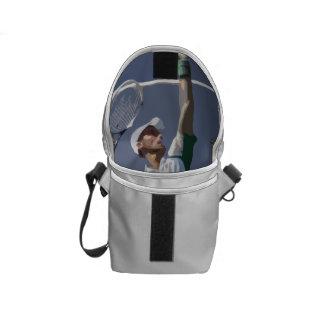 Budbärare för tenniskärlekkortkort kurir väska