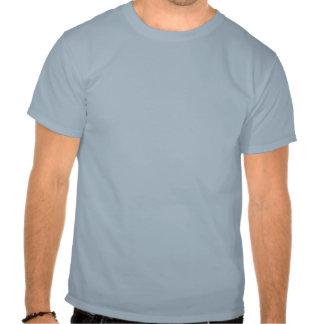 Budbärare i den mörka T-tröja