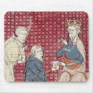 Budbärare träffande Charlemagne Mus Matta