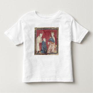 Budbärare träffande Charlemagne Tee Shirt