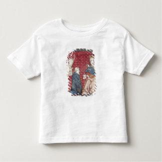Budbärare träffande Charlemagne Tshirts