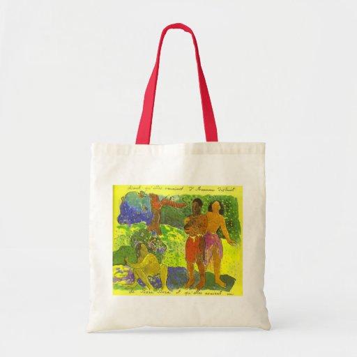 """""""Budbärarna av Oro"""" - Paul Gauguin hänger lös Kassar"""