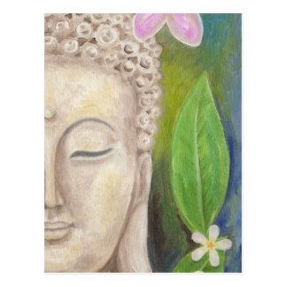 Buddha ansiktevykort vykort
