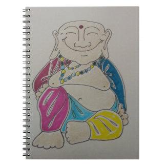 Buddha anteckningsbok. anteckningsbok