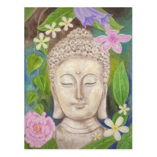 Buddha blommavykort vykort