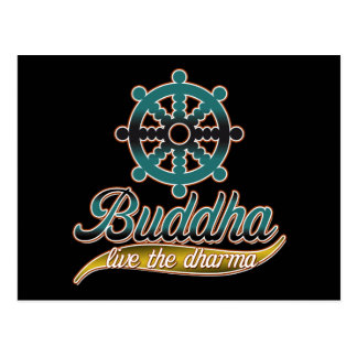 Buddha bor Dharmaen Vykort