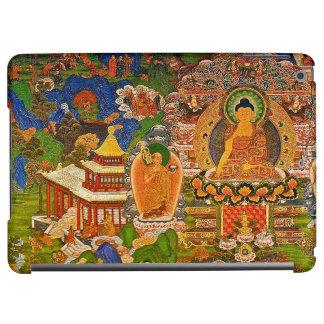 Buddha buddistisk buddism som välsignar den Boho