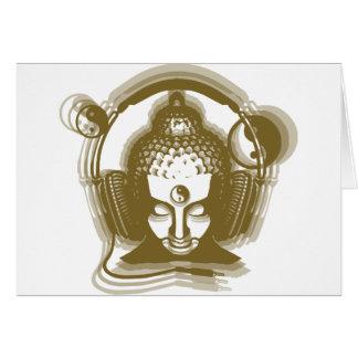 Buddha Deejay Hälsningskort