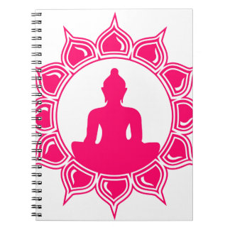 Buddha designer av Liebby branscher Anteckningsbok
