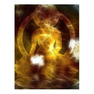 Buddha energi 4 vykort