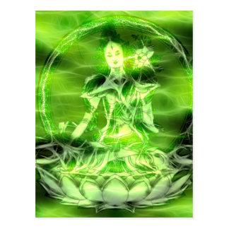 Buddha energi 5 Tara Vykort