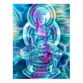 Buddha energi 6 vykort