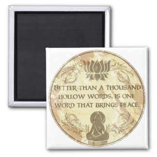 Buddha fördjupningord magnet