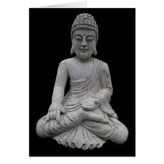 Buddha Hälsningskort