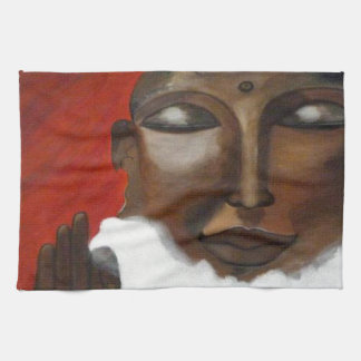 Buddha i himmlen kökshandduk