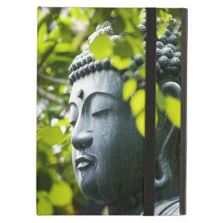 Buddha i Senso-ji tempelträdgård iPad Air Fodral