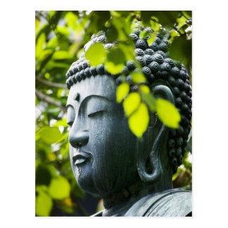 Buddha i Senso-ji tempelträdgård Vykort