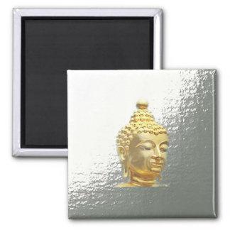 buddha i silver magnet