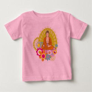 Buddha i vår blommor t shirts