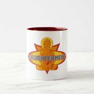 Buddha insikt Två-Tonad mugg