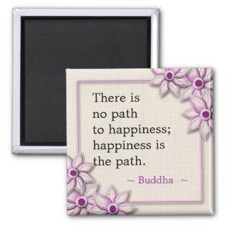Buddha lyckacitationstecken magnet