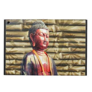 Buddha med bambu fodral för iPad air