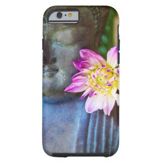 Buddha med den rosa Dahliaiphone case Tough iPhone 6 Case