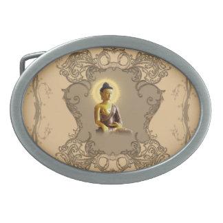 Buddha med mystiskt ljust