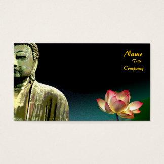 Buddha och lotusblommavisitkort, Holistic Visitkort