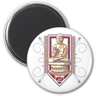 Buddha Om Mani Padma mummel Kylskåps Magneter