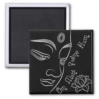 Buddha Om Mani Padme mummel Kylskåps Magneter