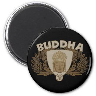 Buddha påskyndade emblemen magnet för kylskåp
